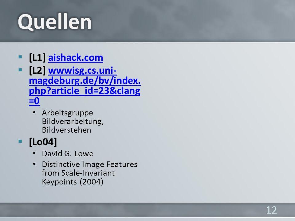 Quellen [L1] aishack.com